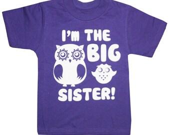 Kids I'm the BIG SISTER T-shirt