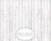 """Photography Backdrop 4ft x 4ft, Vinyl Backdrop Old White Wood Floor, Vintage Wood photo background, Photo Booth prop floordrop, """"White Oxen"""""""