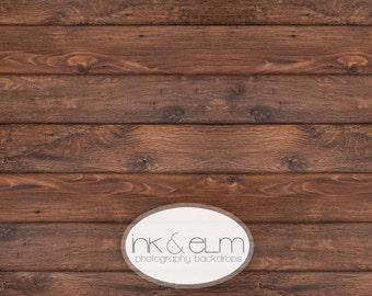 "Vinyl Backdrop 4ft x 3ft, Photography backdrop, Vinyl dark Wood Floor drop, Backdrop, Photo Background dark Wood, ""Tall Dark and Handsome"""