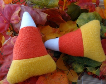 Candy Corn Squeaky Dog Toy for small dogs