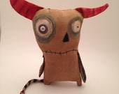 RESERVED!!! Handmade grungy monster (Giermo)