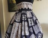 Dolly Doilies Classical Goth Lolita JSK - Size L