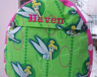 My Carrie Baby/Toddler Backpack made with Tinkerbell Fabric