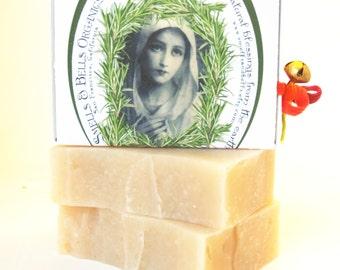The Virgin Rosemary Organic Soap
