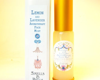 Lemon and Lavender Aromatherapy Face Mist