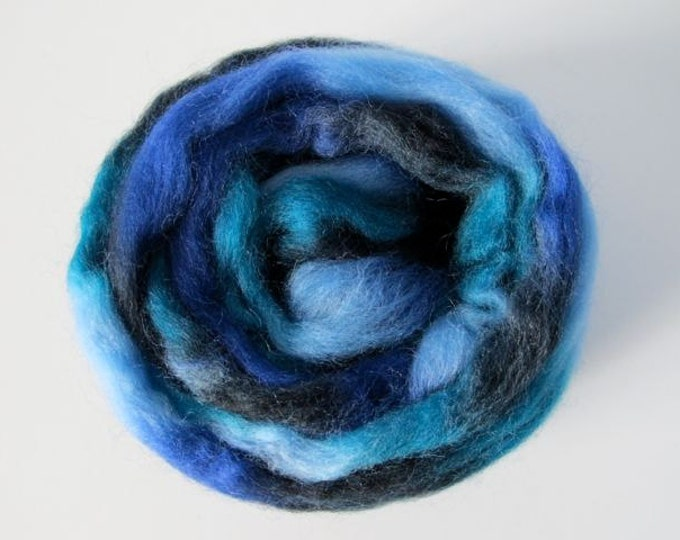 Ocean Waves Wool Top 1oz (Northern Lights/Louet)