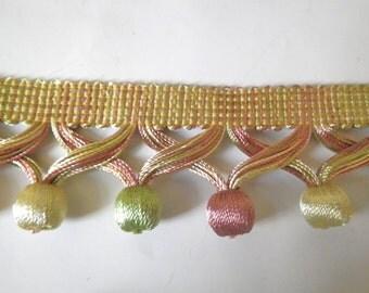 Ball Fringe Ornate 10 yrads Drapery trim Upholstery trim Pillow trim