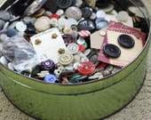 Huge Tin of Vintage Buttons THREE tins reserved