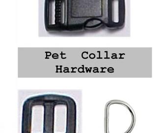 "10 SETS - 1/2"" - Dog Collar Kits, 1/2 inch, 30 Pieces, 12.7mm (set 1/2 inch wm)"