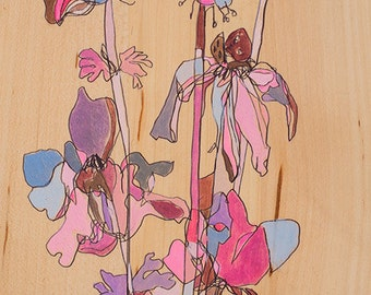 Natural Beauty Canvas Print by Jennifer Mercede 24X12