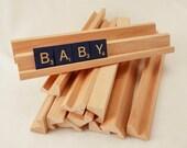 Scrabble tile holders - place mat holders - Destash