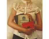 Portrait- The English Major- Art Print