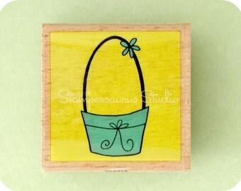 RUBBER STAMP - Easter Basket