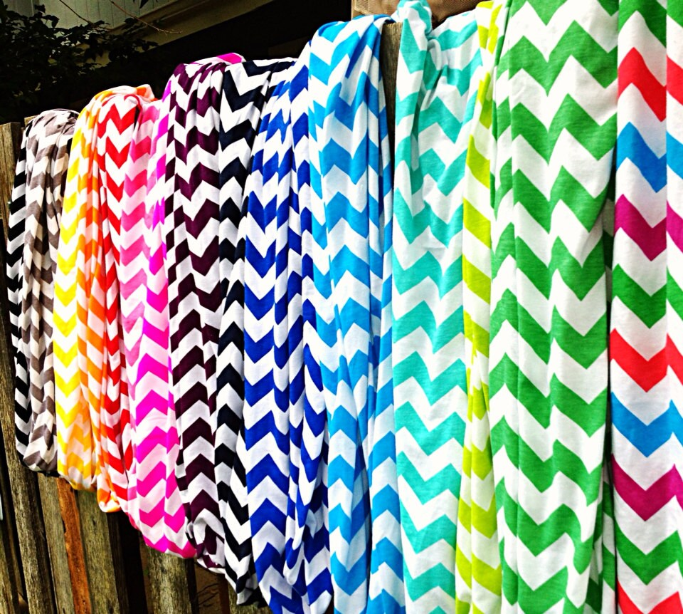 20 chevron infinity scarves wholesale bulk wide and