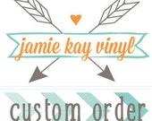 custom order for Rachel B