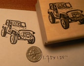 Jeep rubber stamp P51