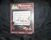 Vintage Stoney Creek Nature's Resting Place Cross Stitch Pattern Leaflet #29 SEWBUSY12
