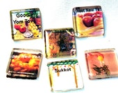 Jewish New Year - High Holiday Magnets - Set of 3