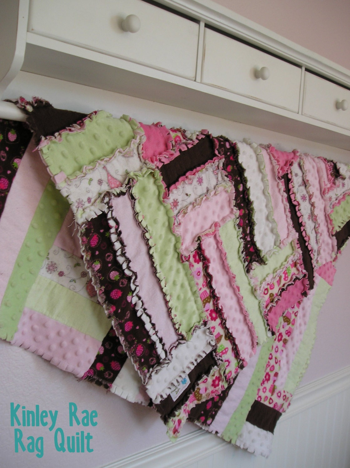 The Kinley Rae Rag Quilt PATTERN