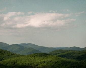 Mountain Photography, Nature Wall Art, Landscape Photograph, Wilderness Print, Hills, Large Wall Art, Mountain Art Print - Stillness