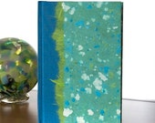 Journal Lined or Blank Turquoise Terrazo - Notebook ,Sketchbook, Writing Journal, Gift, Diary