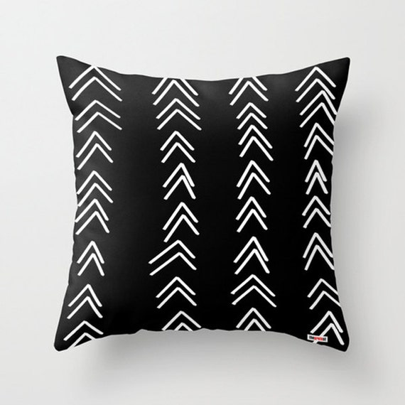 Decorative pillow cover Black and white pillow cover