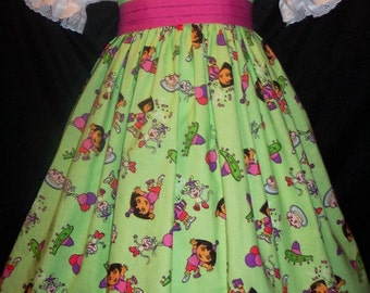 DORA BIRTHDAY Dress Custom Size
