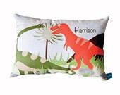 Chummy Dinosaurs Personalised Decorative Cushion