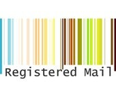 registered air mail