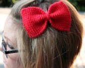 Large Knit Bows