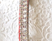 Blingy rhinestone barrette, hair barrette, sparkly barrette, rhinestone ponytail holder, wedding barrette, womens accessory, fashion jewelry