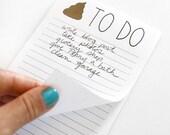 Teacher Gift - To Do Notepad - Stocking Stuffer