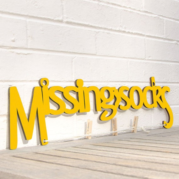 Missing Socks Sign, Laundry Room Decor, Washing Sign, Inspirational Sign, Wood Meme Sign, Funky Wood Sign, Wood Sign Decor, Wood Word Sign
