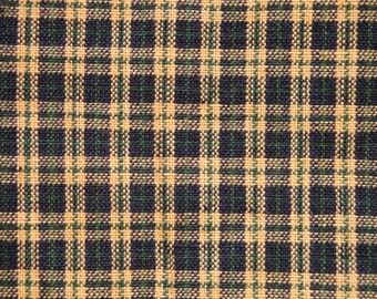 Homespun Material | Cotton Material | Plaid Material | Tartan Plaid By The Yard  Destash