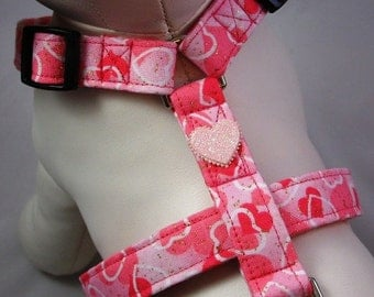 Dog Harness - Pretty in Pink