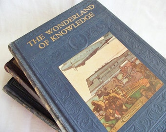 The Wonderland of Knowledge - 1950s Youth Encyclopedia - Fif -Gre -Volume 6