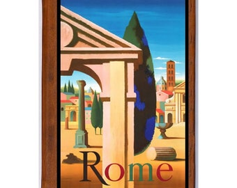 ROME 1- Handmade Leather Photo Album - Travel Art