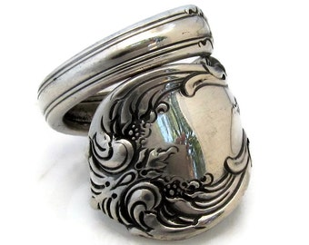 Sterling Silver Spoon Ring Old Master Towle Size 6-15