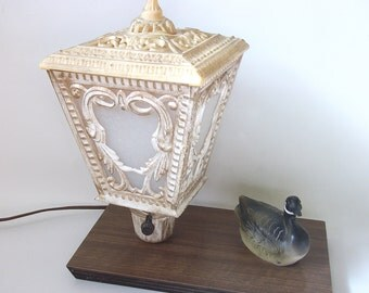 Vintage Table Lamp - Antique Lamp - Duck Light  Home Decor Lighting
