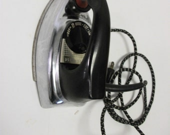 60s Vintage Chrome Westinghouse Iron