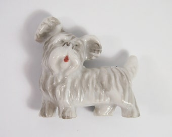 Scotty Dog Japan Vintage 30s 40s Porcelain Figurine