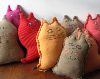 100% Cashmere Cat soft toys