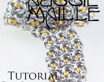 Chainmaille Tutorial - Triple Byzantine Cuff