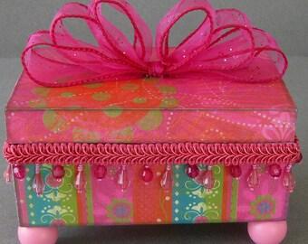 Pink Fiesta Decorative Box