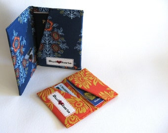 How to make professional Passport and Card Wallets Sewing Patterns Instant Download
