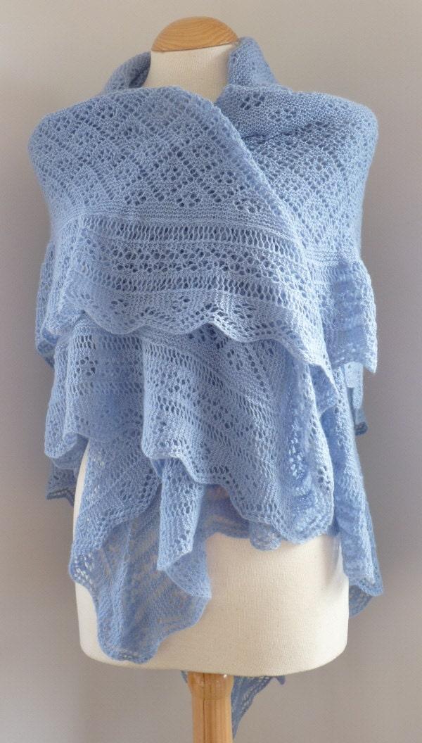 pdf pattern for the cataria shawl by elizabeth lovick