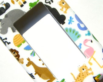 GFCI Outlet Cover Rocker Light Switch Cover -- Baby Zoo Safari