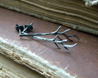Branch Earrings - Sterling Silver