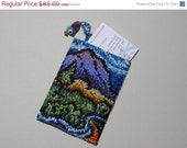 On Sale Now Hand Beaded Card Holder