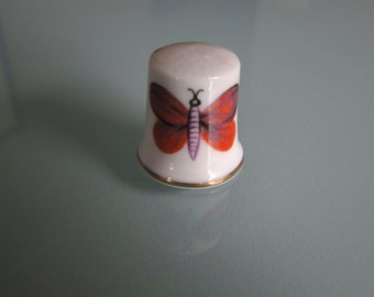 Vintage Butterfly Thimble